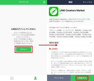 Creators Market(クリエイターズマーケット)にログイン